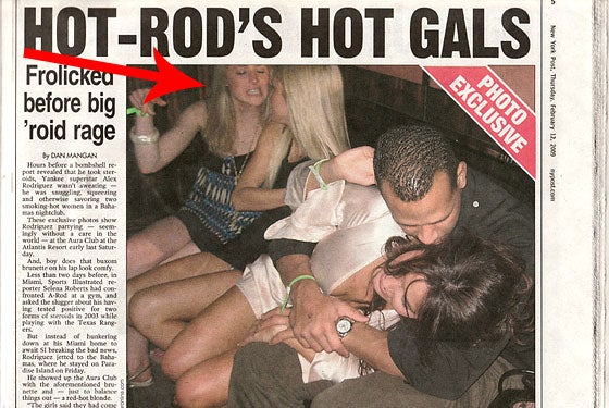 One Couch Bunny From A-Rod Photo Is A New York Magazine Intern