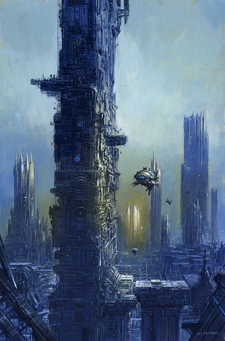 Bustling Spacedocks And Weird Cities In 2009's Coolest Book/Magazine Covers