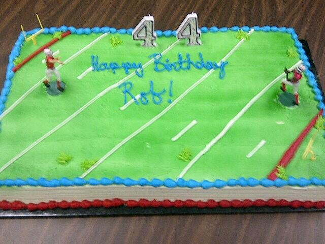 Rob Ford Got A Football-Themed Cake For His Birthday