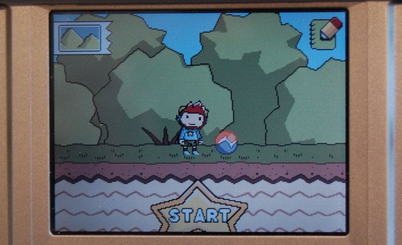 Some Words That Are, And Are Not, In Scribblenauts