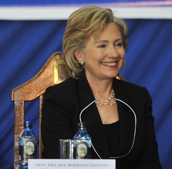 Upper Management: Clinton Proves Mettle By Making Sure Things Get Done