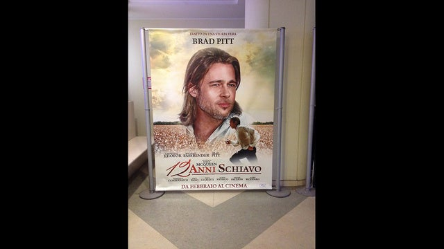 Company Responsible For 12 Years A Slave Brad Pitt Poster Apologizes