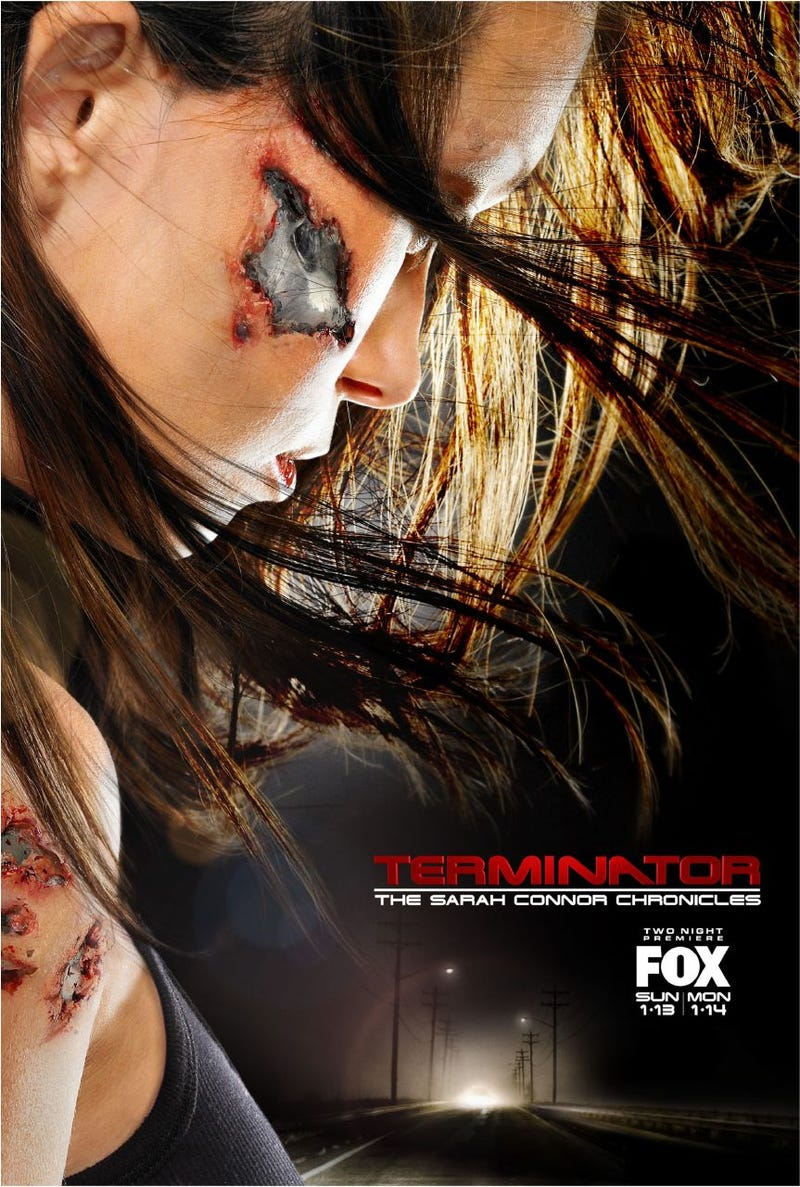 Terminator: The Sarah Connor Chronicles Posters, Trailer Are Mildly Sexy