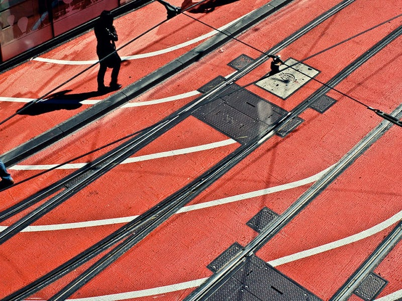 Get Outta the Way! City's Streets Converted to Running Track