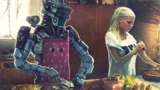 Concept Art From Blomkamp's <i>Chappie</i> Looks Like A Lost <i>Judge Dredd</i> Tale
