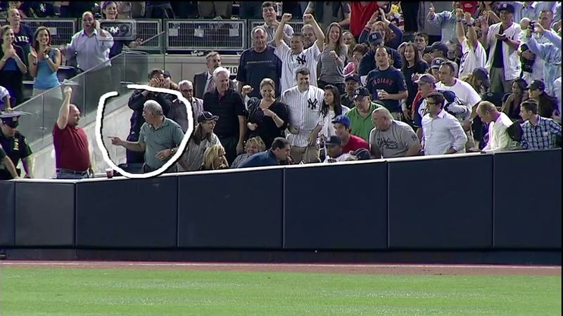 The Greatest Trick Dewayne Wise Ever Pulled Was Convincing The World He Caught This Ball [UPDATE]
