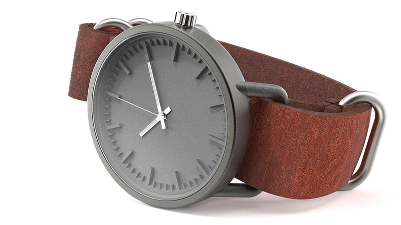 These 3D-Printed Titanium Watches Will Probably Outlive You