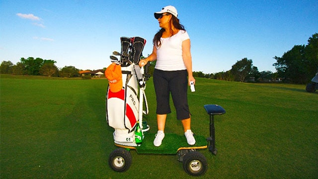 A Golf Cart Skateboard Sounds Like the Best Way To Play 18 Holes