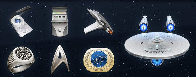 Star Trek Icons! Star Trek Icons!!