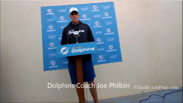 Joe Philbin Thinks Google Glass Comes Equipped With Lasers