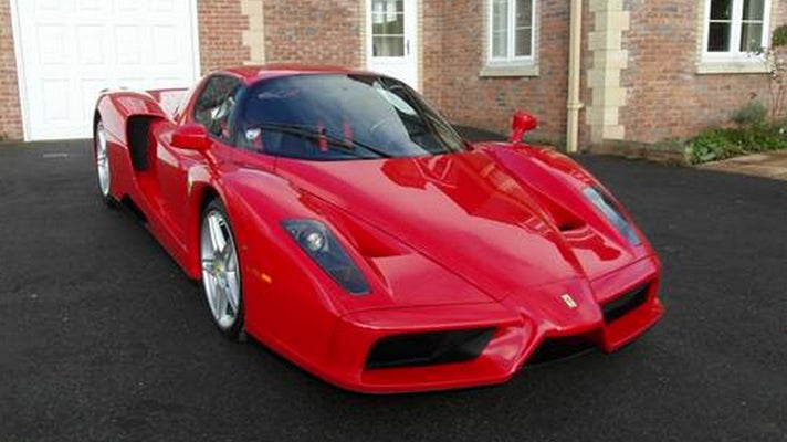 Anyone want to lend me a couple mil for an F1 champ's used Ferrari? I'll share it with you...