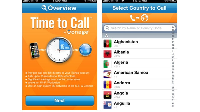 Vonage Is Giving Away 15 Free International Minutes to Downloaders Of Its Free App