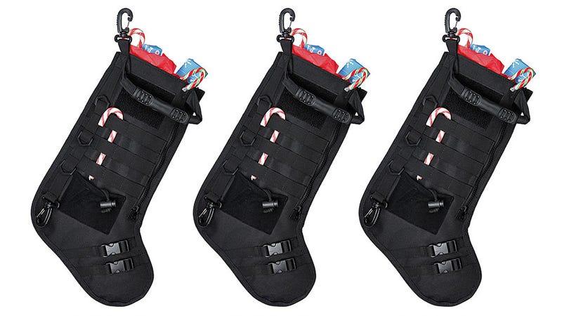 Tactical Stockings Ensure Maximum Stuffage