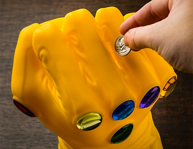 Collect Coins, Not Infinity Gems, With a Thanos Gauntlet Bank