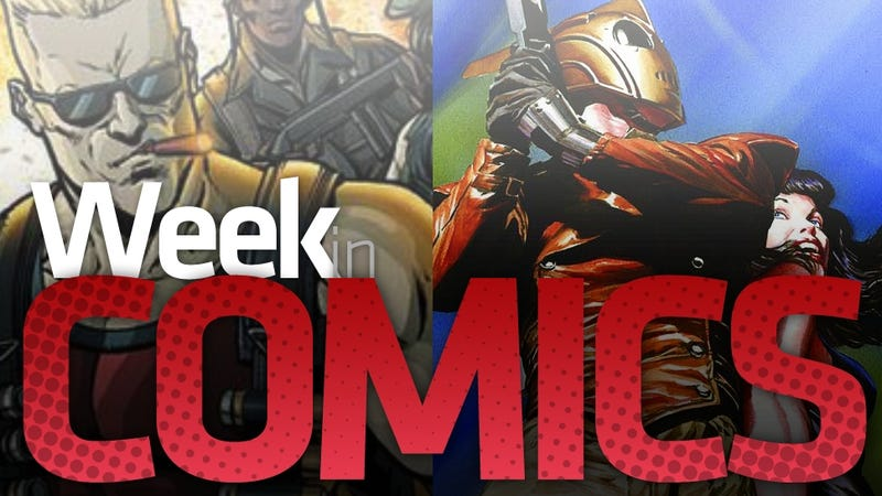 Duke Nukem, Jason Rubin, the Rockeeter, and Scourge the Hedgehog All Have New Comics Out This Week