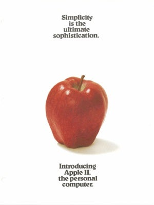 Old Tyme-y Apple Ads