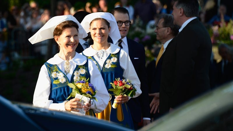 So Today Was Dress-Up Day for Sweden's Royal Family