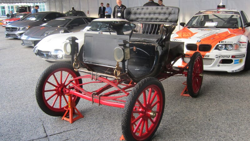 This Is The Star Of The Los Angeles Horseless Carriage Show