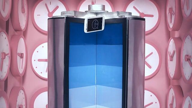 How Droga5 Put Motorola's Moto E Through The Slo-Mo Freefall Paces