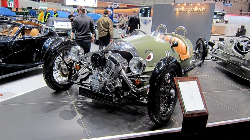 This is the retro awesome Morgan 3 Wheeler