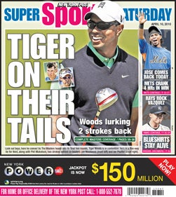 """Lurking"" Tiger's Hogan Bragging: Your Masters Open Thread"