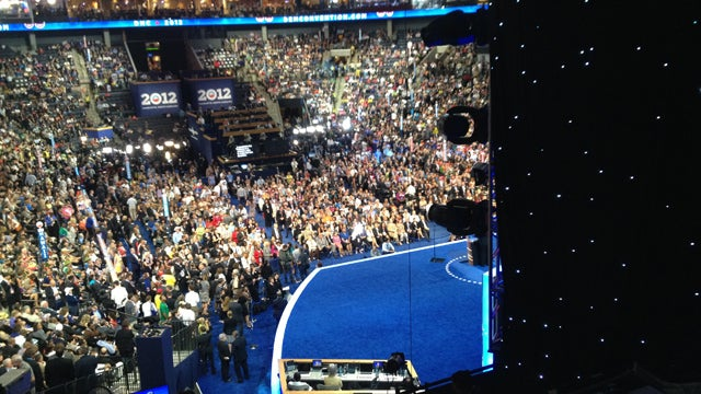 The Democratic National Convention: A Rain-Logged Liveblog