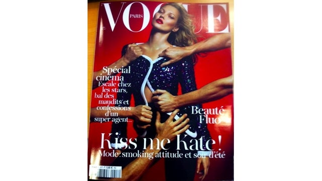 Kate Moss Made Emmanuelle Alt's Second-Ever Cover Of Vogue Paris