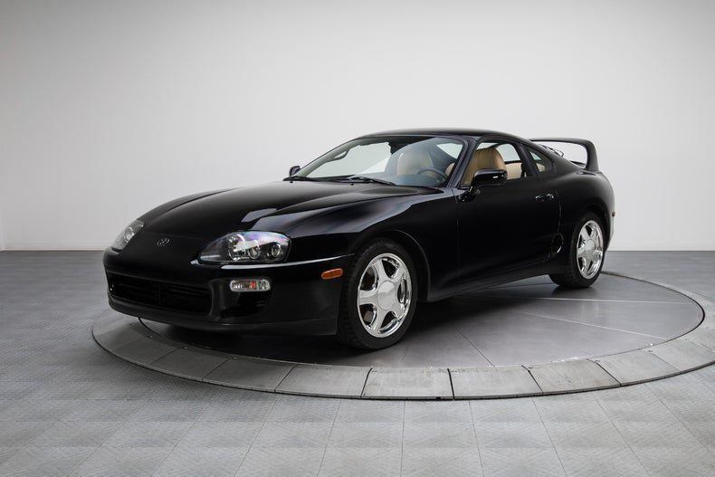 Do you want a 6sp Supra Turbo targa with 15k miles in black/tan?