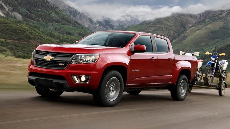 The Chevrolet Colorado Could Be A Shot In The Arm For Small Trucks