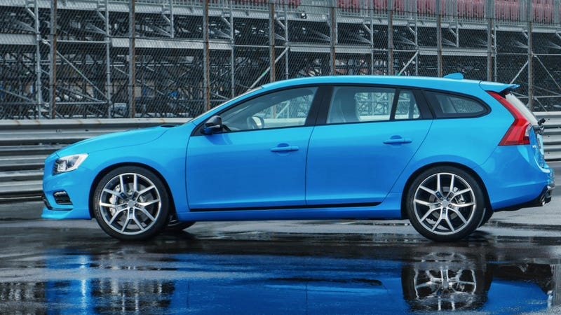 The Bluegasmic 350 HP Volvo V60 Polestar Wagon Is Coming To America
