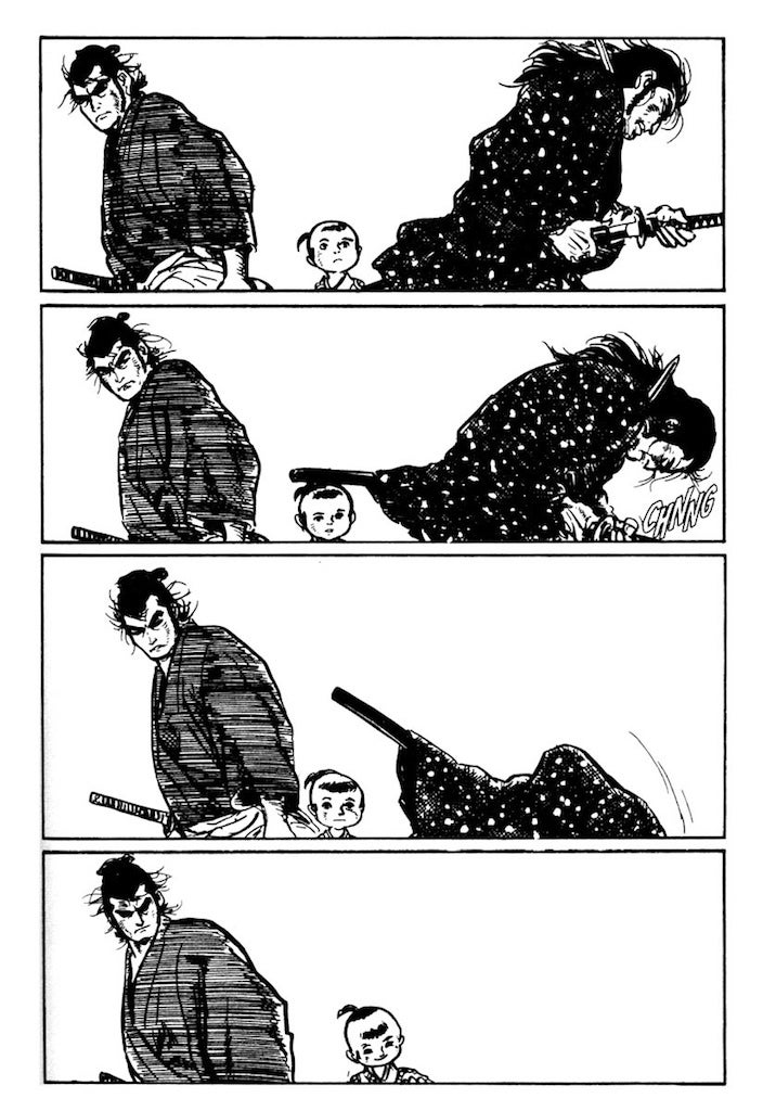 This Classic Manga about a Deadly Samurai and His Adorable Son Should've Been a Video Game a Long Time Ago