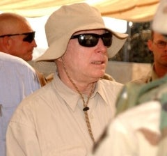 McCain In Brazilian Love Tryst With Mystery Model Outrage!