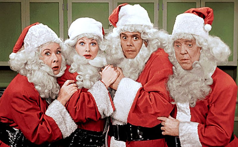 CBS' Christmas Gift To You Is Two I Love Lucy Episodes In Color