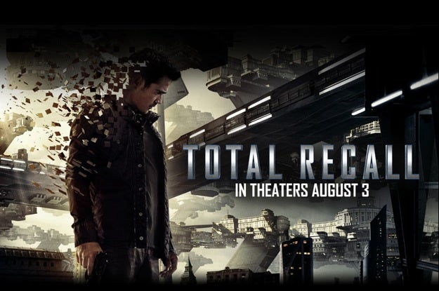 New Total Recall Poster