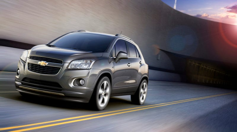 Hey World, Meet The Chevy Trax