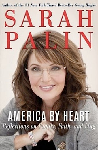 It's Sarah Palin's Second Book Cover!