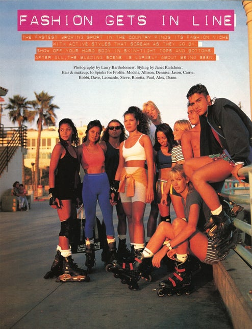 Back Issues Of InFashion: Party Like It's 1992