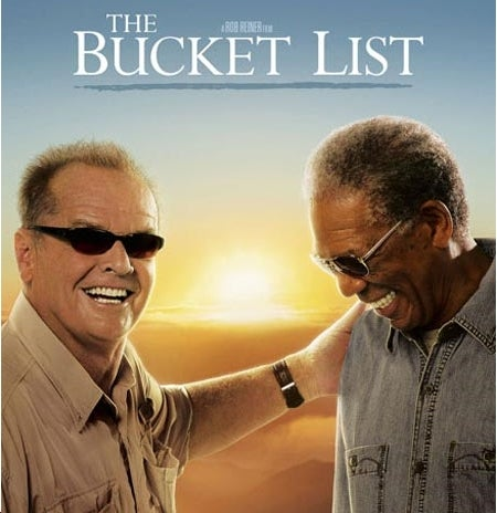 First Ever Cool Use of 'Bucket List'