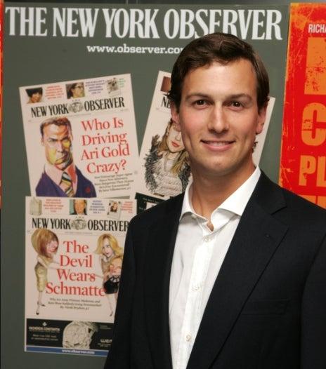 Jared Kushner Ready to Exit the New York Observer?