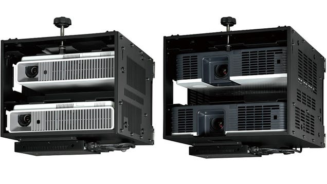 Casio's Convex System Lets You Stack Projectors and Unwarp Images With Surprising Precision