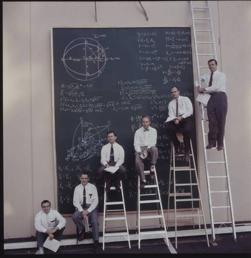 Initially, They Were Going to the Moon Using Big Ladders