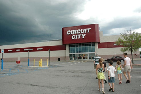 Rumor: Circuit City On Death's Door, Closing 155 Stores This Monday