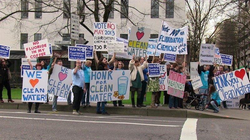 Quacks of All Political Persuations Fight Fluoridation In Portland