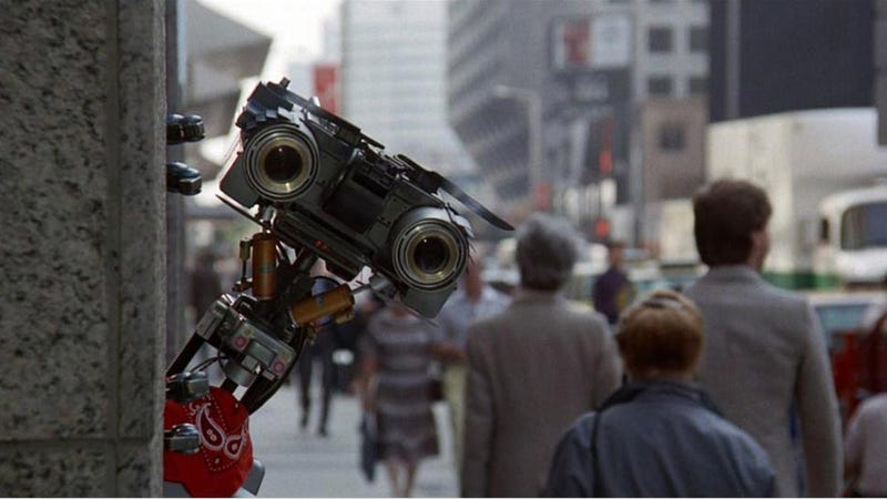 Of johnny five and the fifth version actually short circuted