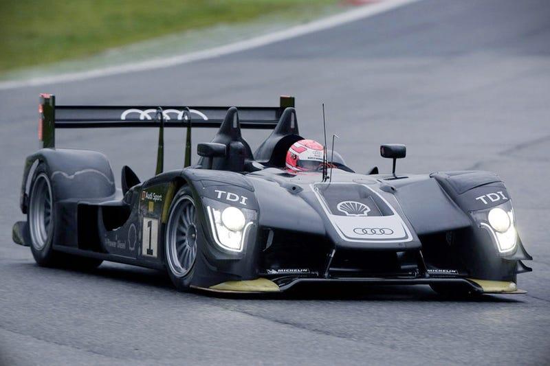 Audi R15 TDI LMP1 Induces Keyboard Ruination