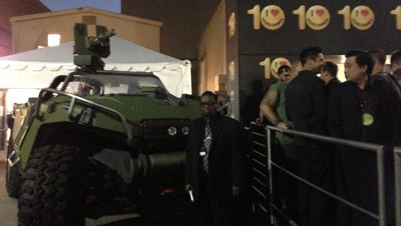 We Found The Ecto-1 and a Halo Warthog in L.A. Plus: Sam Jackson Snapped At Jason.