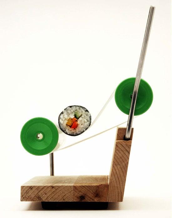Sushi-Making Gadget Works Like a Cigarette Roller