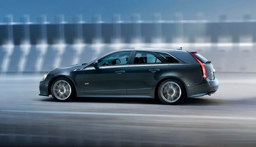 Cadillac CTS-V Sport Wagon: Cadillac Style