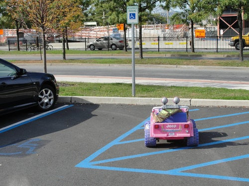 This Is Why People Think Power Wheels Drivers Are Asshats