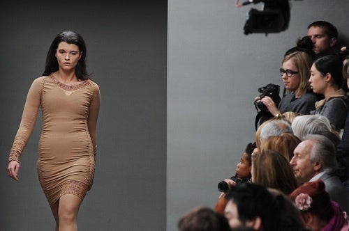 Designer Mark Fast Continues His Tradition Of Sending Plus-Size Models Down The Runway